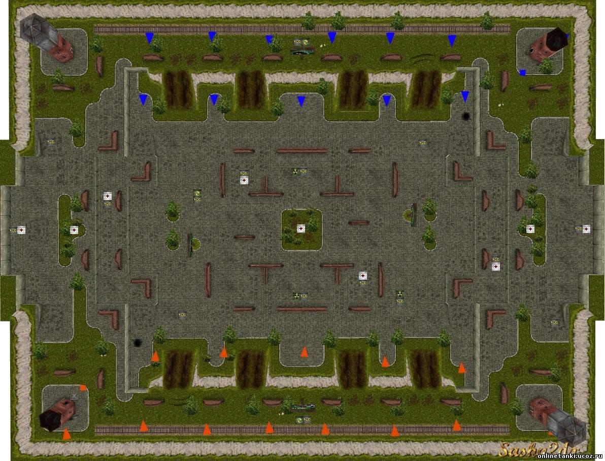 Карты в Танках онлайн
