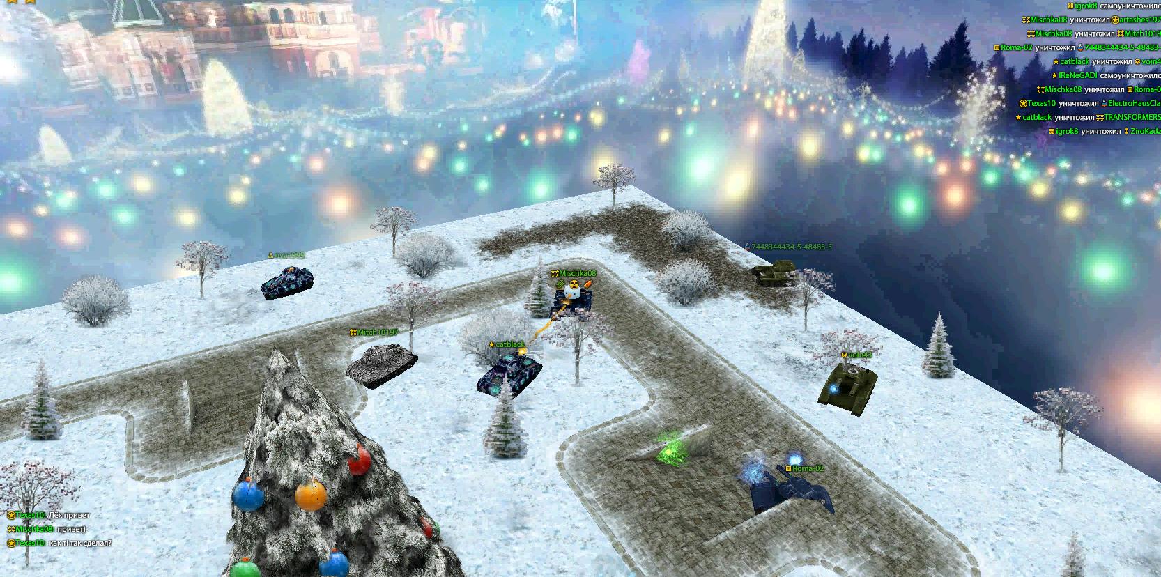 С Новым 2012 годом, друзья ! Принимайте подарки о Танков онлайн