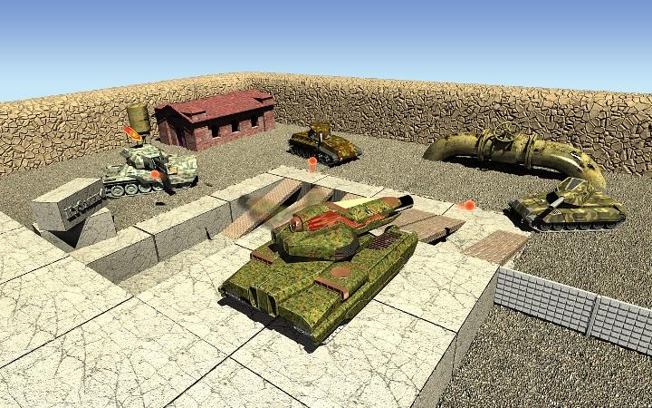 обои танки март