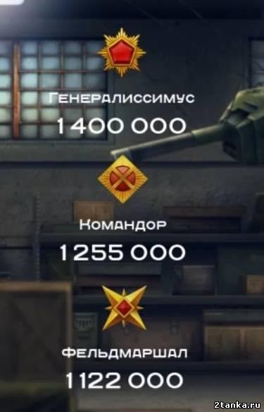 танки онлайн фото звание