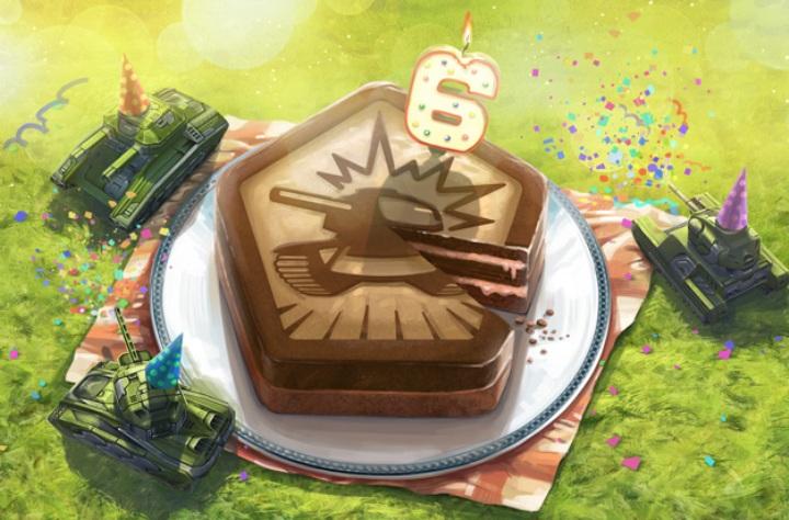 День рождения Танков онлайн