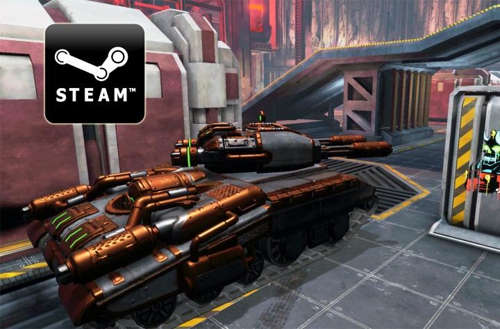 Tanki X теперь в Steam